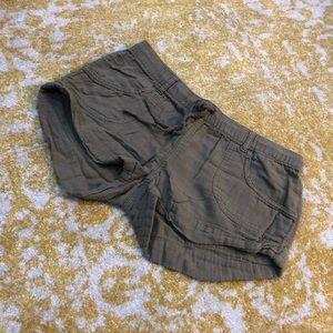 Roxy brand drawstring shorts
